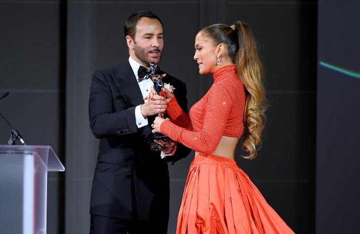 Jennifer Lopez CFDA award winner