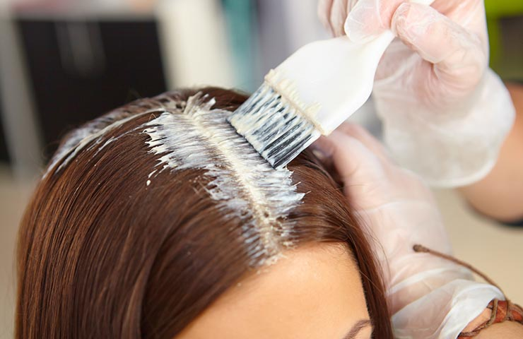 Toxic hair dye chemicals