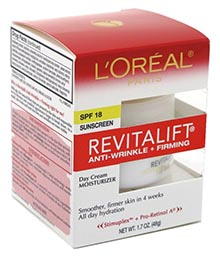 L'Oreal RevitaLift Complete Day Cream with SPF 18
